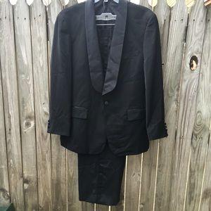 Other - Vittorio St. Angelo men's 1 button tuxedo suit